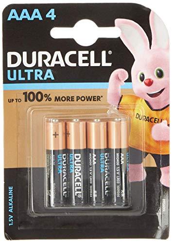 Duracell Ultra Alkaline AAA Batteries (Pack of 8)