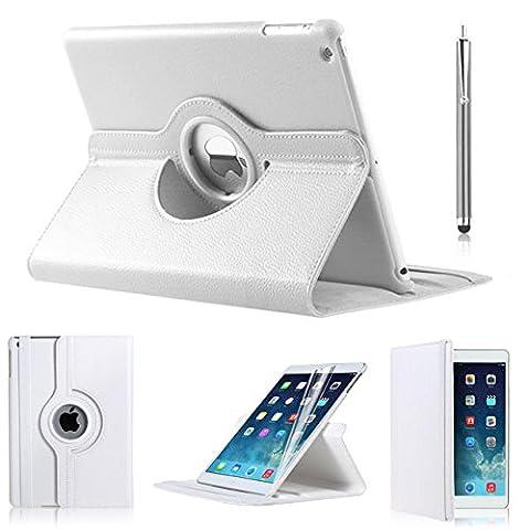Nouvel iPad Pro 10.5Coque, iPro Accessoires® (modèle 2017) [protection d'angle] iPad Pro * 10.5Housse en cuir, rotatif à 360° support Portefeuille de haute qualité Coque pour iPad Pro 10.52017, Housse (26,7cm d'affichage de l'écran) [Compatible avec l'iPad Pro 10.5* protection d'écran]