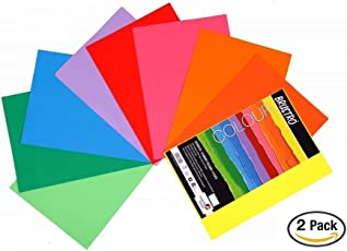Brustro Colour Paper 80 Gsm A4 Assorted (Pack Of 2)