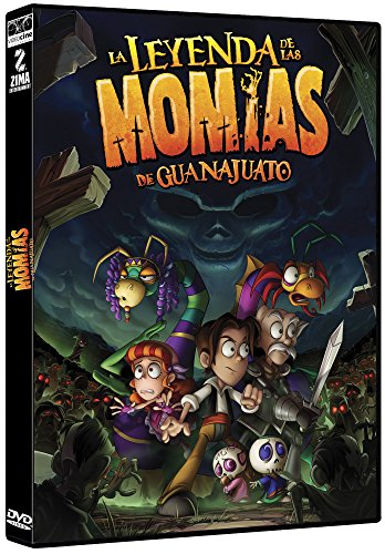 LA LEYENDA DE LAS MOMIAS DE GUANAJUATO [NTSC/Region 1 and 4 dvd. Import - Latin America]. (Guanajuato De Las Momias)