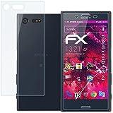atFoliX Film Vitre Protection Écran Sony Xperia X Compact Verre film protecteur - Set de 1 - FX-Hybrid-Glass