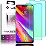 NALIA (2 Pièces) Verre Trempé pour LG G7 ThinQ, 9H Protection d'Écran Integrale LCD Film Protège Telephone Portable, Screen-Protector Remplacement Vitre pour Smart-Phone LG-G7ThinQ - Transparent