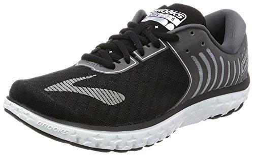 Brooks Pureflow 6, Zapatos para Correr para Mujer, Gris (Black/Anthrac