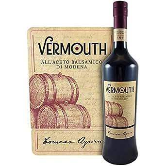 Vermouth all'Aceto Balsamico di Modena IGP Tomaso Agnini 75cl, 18%vol. Premium Italian Vermouth distillato a Finale Emilia nel cuore della pianura di Modena.