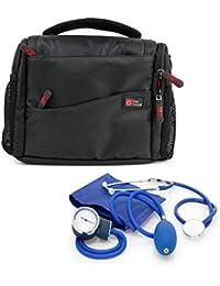 DURAGADGET Bolso / Botiquín Para Equipo De Primeros Auxilios | Compartimentos Interiores Regulables - Perfecto Para Médicos / Paramédicos / Enfermeros