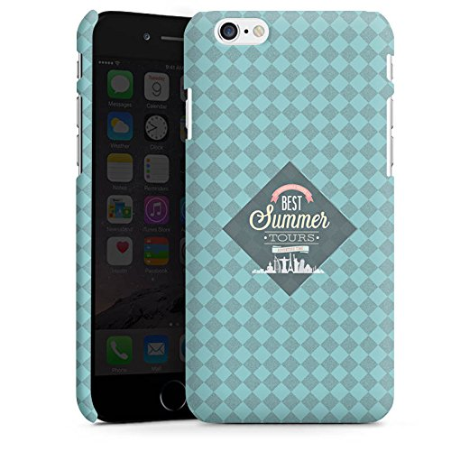 Apple iPhone X Silikon Hülle Case Schutzhülle sommer Reise Statement Premium Case matt