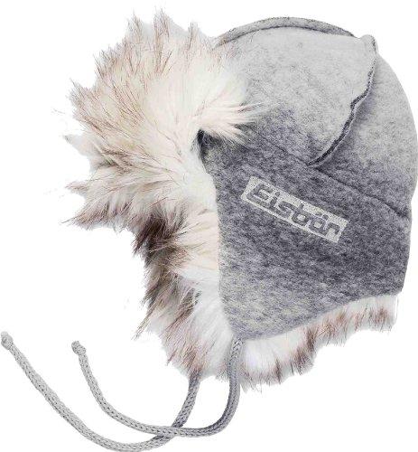 Eisbär Damen Mütze Iceland MÜ, Silber/Beige, M, 403455