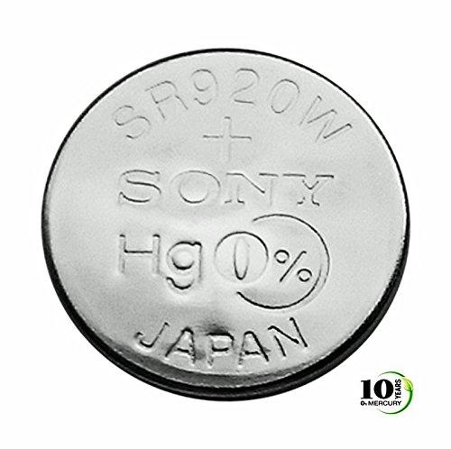 1 pile pour montre Sony 370 SR920W 1,55 V