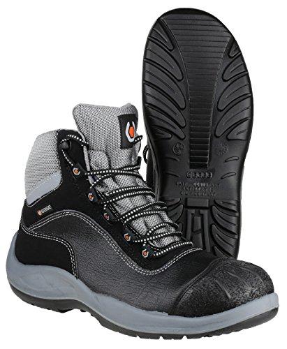 Base  B119, Chaussures de ville à lacets pour homme noir