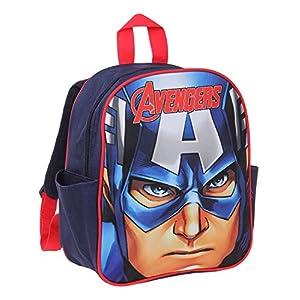 513HqeK57tL. SS300  - Avengers Assemble Chicos Mochila - Azul marino