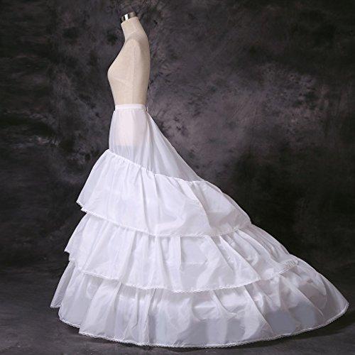 AnnieHouse Damen Unterrock Weiß