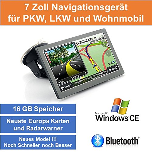Und Navigation Gps Radarwarner (17,8cm 7