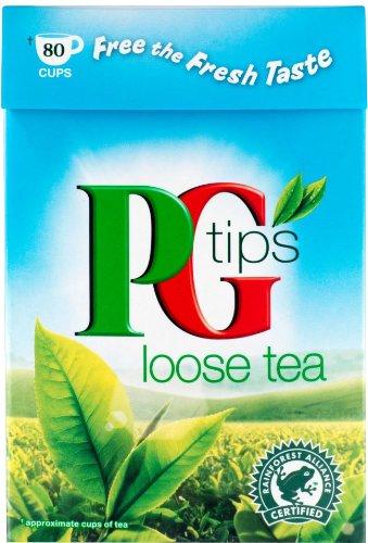 PG Tips Loose Tea 250g – loser schwarzer Tee