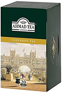 Ahmad Tea Cardamom Tea, 20 Count (Pack of 6)