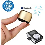 [Sponsored]Captcha Metal Loudspeaker Super Mini Bluetooth Wireless Music Square Box Speaker With Selfie Remote Shutter Control With Mini Digital MP3 Player Compatible With Xiaomi, Lenovo, Apple, Samsung, Sony, Oppo, Gionee, Vivo Smartphones (One Year Warr