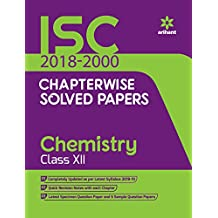 ISC Chapterwise Solved Papers Chemistry Class 12th