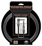 Monster Cable CLAS-I-21A Câble Jack coude/Jack 6,4 m Noir