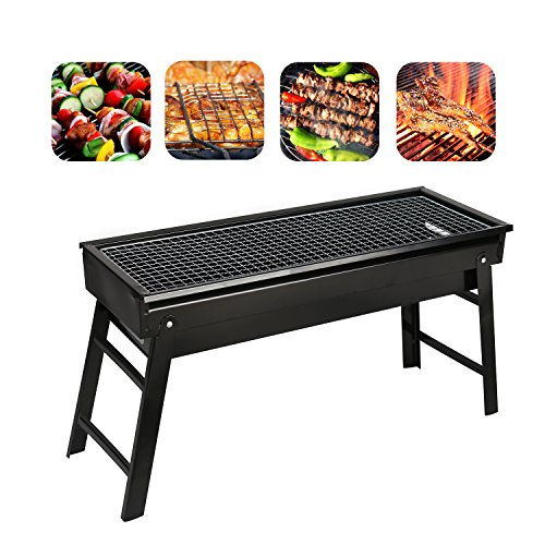 Portable BBQ Barbecue Foldable Camping Picnic Outdoor Garden Charcoal bbq Grill Party