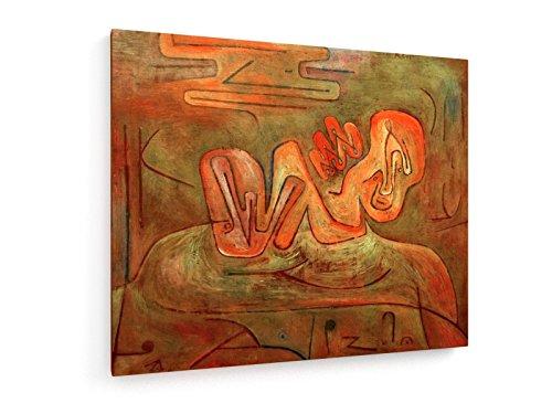 paul-klee-catastrofe-de-la-esfinge-1937-60x50-cm-weewado-impresiones-sobre-lienzo-muro-de-arte