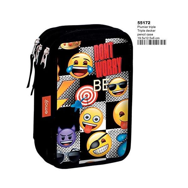 Montichelvo – Plumier triple emoji sticker
