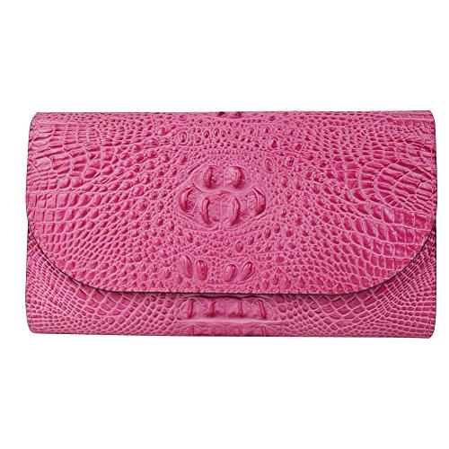 dj-16007-frau-leder-geldborse-handtasche-clutches-perfekte-brieftasche-red-gold-mit-metall-schnalle-