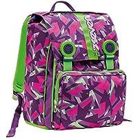 a5465a530f Zaino scuola triplicabile SEVEN - TAG GIRL - rosa verde - estensibile - 31  LT -