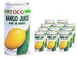 Foco - Mango Nektar - 12er Pack (12 x 350ml Dose) - Aus Thailand