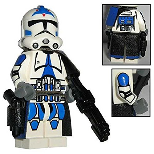 Custom Brick Design 501st Legion Clone Trooper Sergeant Offizier Figur - Customized by CBD - Wars Lego Custom Star