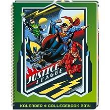 DC Comics 2014 Kalender & Collegebook A5