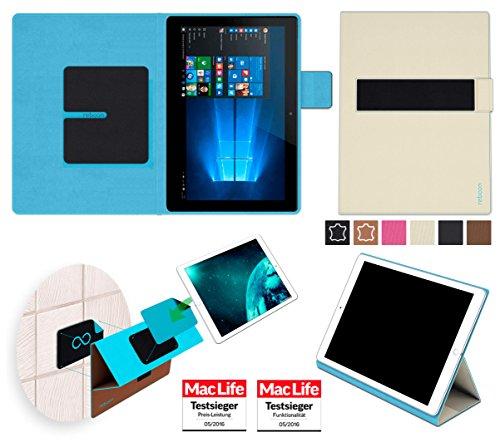 reboon Hülle für Allview WI10N Tasche Cover Case Bumper | in Beige | Testsieger