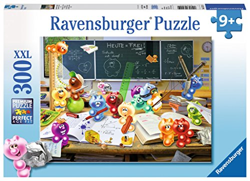 Ravensburger-13211-Spa-im-Klassenzimmer-Puzzle Ravensburger Kinderpuzzle 13211 – Spaß im Klassenzimmer – 300 Teile -
