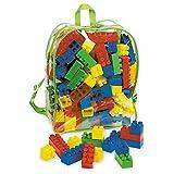 Unbekannt Rucksack mit bunten Bausteinen • Bausteine im Bauklötze Spielzeug Steckbausteine Spielbausteine Kinder