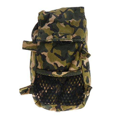 magideal Mini Wandern Tasche Schultasche Rucksack Rucksack für Barbie Ken Puppe Camouflage