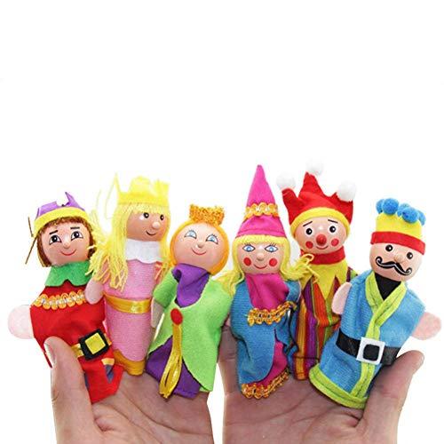 Honestyi Squishy Stress Spielzeug Squishies 6pcs Finger Toys Hand Puppen Weihnachtsgeschenk bezieht sich versehentlich