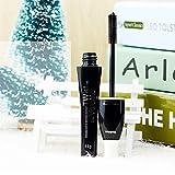 Providethebest Femmes Filles coloré Curling Mascara 3D Maquillage des yeux rapides cosmétiques extension de cils secs Noir