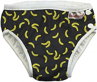 ImseVimse, pañal Bañador, badewindel, aquawindel, badewindel Pantalón Black Banana