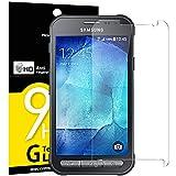 Panzerglas Samsung Galaxy Xcover 3, NEWC® Tempered Glass 9H Härte, Frei von Kratzern Fingabdrücken und Öl, HD Displayschutzfolie, 0.33mm Ultra-klar, panzerglas schutzfolie für Samsung Galaxy Xcover 3