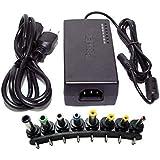 Generic 12V/ 15V/ 16V/ 18V/ 19V/ 20V/ 24V Output Universal AC DC Power Adapter Charger One Piece