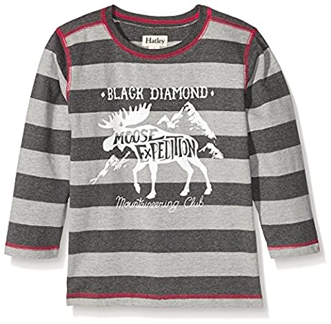Hatley Boy's Graphic Tee Sports Shirt, Moose Expedition, 4