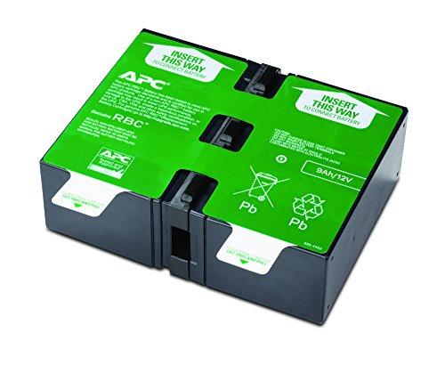 APC APCRBC124 - Ersatzbatterie für Unterbrechungsfreie Notstromversorgung (USV) von APC - passend für Modelle BR1200GI / BR1500GI und andere -