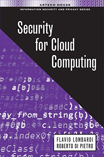 Security for Cloud Computing (Information Security and Privacy) (English Edition)