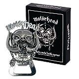 Motörhead - Metall Flaschenöffner Logo - verpackt in einer Edlen Geschenkbox!