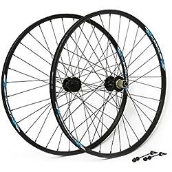 "MSC Bikes MSCTRANS29XCQR Juego Ruedas Transformer 32R, Negro, 29"""