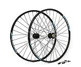 Best Los juegos de ruedas de carretera - MSC Bikes MSCTRANS29XCQR Juego Ruedas Transformer 32R, Negro Review
