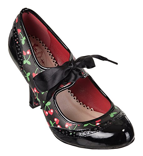 Banned Apparel , Mary Janes pour femme Cherries