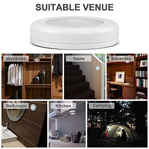 3 st ck nachtlicht mit bewegungsmelder topist led bewegungsmelder licht ein aus nachtlicht. Black Bedroom Furniture Sets. Home Design Ideas