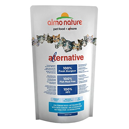 Almo Nature - Cat - Alternative - Trockenfutter - Stör & Reis - 750 g