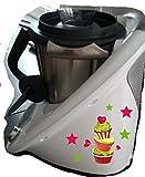 Best Los libros de cocina para muffins - Grafix–Adhesivo decorativo para Thermomix TM 5Lado Derecho Muffin Review