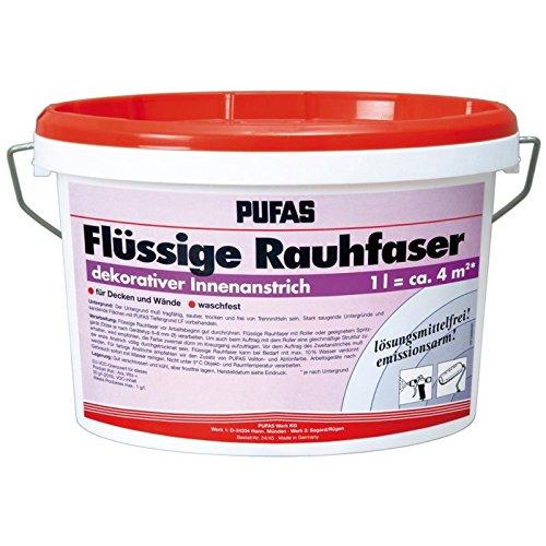 Pufas Flüssige Rauhfaser roll- und spritzfähig      2,500 L - 2.5% Flüssig