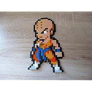 Sprite Kuririn - Krillin - Dragon ball - Hama Beads - Pixel Art